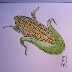 In the spirit of summer and the Indiana State Fair, corn!