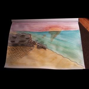 Just a beach scene.
