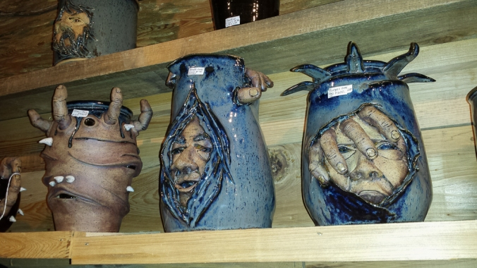 Really cool pottery